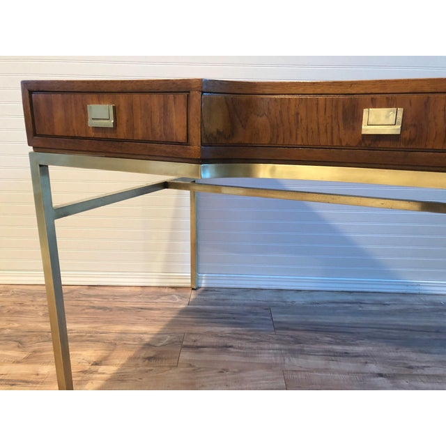 Drexel Consensus Campaign Writing Desk - Image 4 of 11