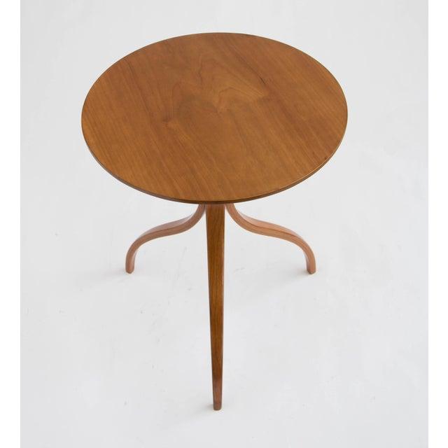 Image of Spider Leg Walnut Side Table