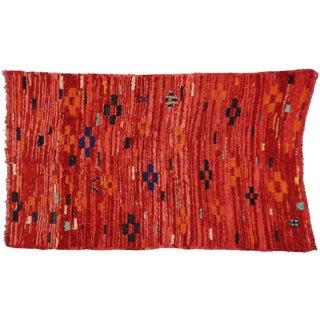 Vintage Berber Red Moroccan Rug, 4'x6'7