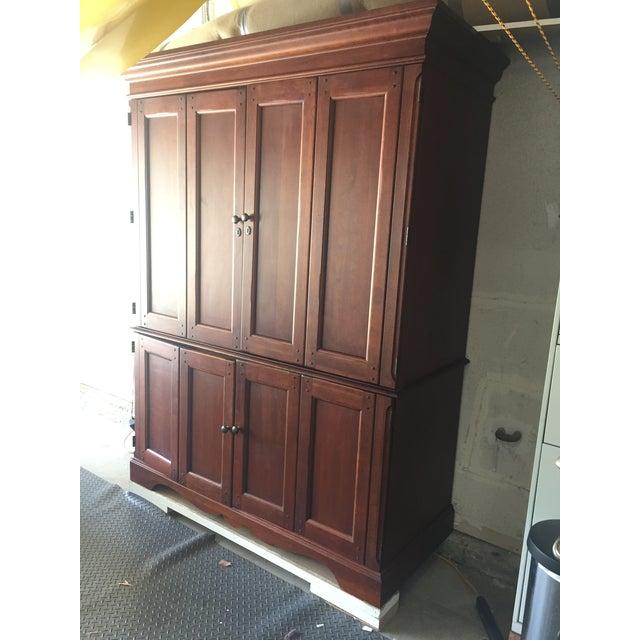 Media Cabinets Furniture: Hooker Furniture Transitional Media Cabinet