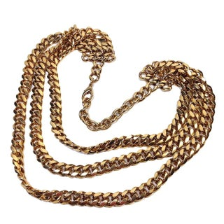 Multi-Strand Goldtone Chain