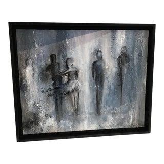 Framed Sandra Meyer Oil Painting