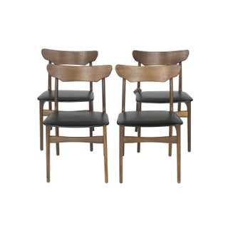 Schionning 1960's Danish Dining Chairs - Set of 4