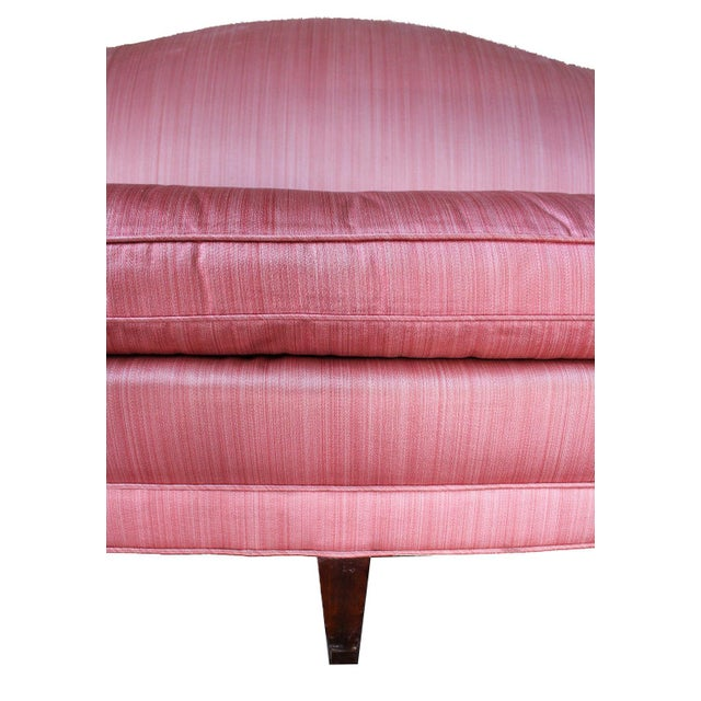 Antique Chippendale Silk Down Sofa - Image 10 of 11