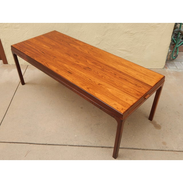 Danish Extendable Rosewood Coffee Table 1960 S Image 4