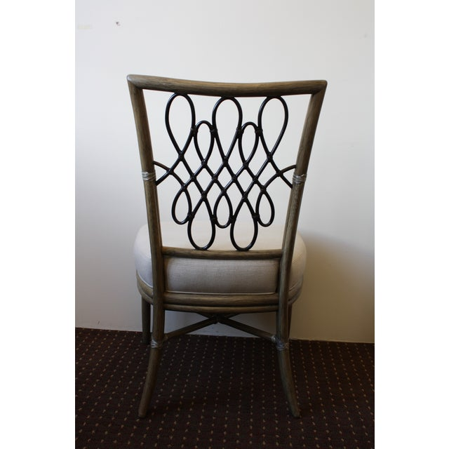 McGuire Barbara Barry Script Side Chair - Image 5 of 7