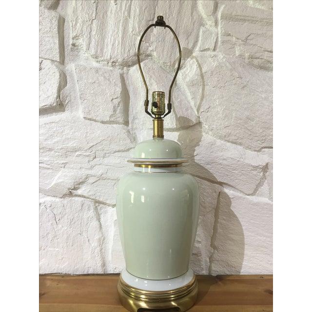 Vintage Frederick Cooper Ginger Jar Lamp - Image 2 of 5