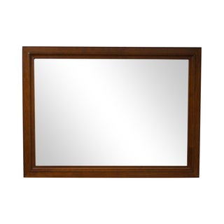 Stickley Solid Cherry Beveled Glass Wall Mirror