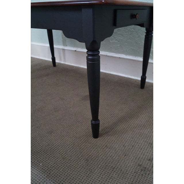 nichols stone solid maple painted base dining table