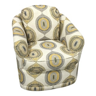 Leathercraft Boho Chic Swivel Chair