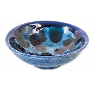 Blue Spots Ring Dish