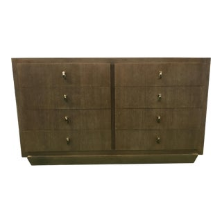 Cerused Oak 8-Drawer Dresser