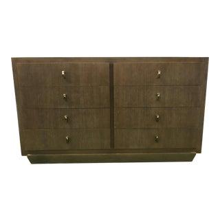 Cerused Oak 8-Drawer Dresser