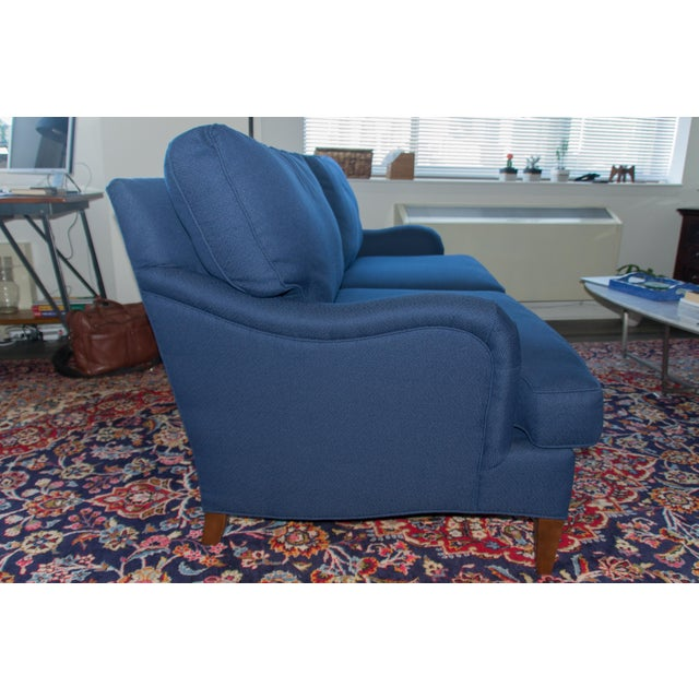 C.R. Laine Blue Custom Couch - Image 4 of 6