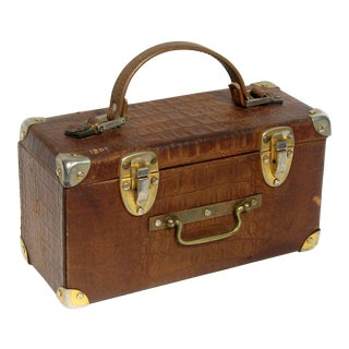 Petite French Alligator Luggage