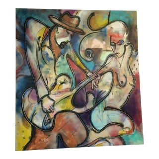 Contemporary Painting on Canvas by Dray