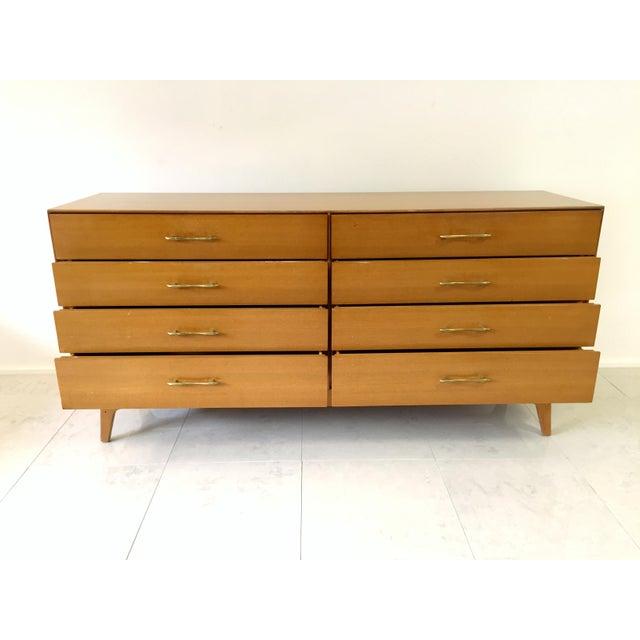 Rway Maple Mid-Century Low Boy Dresser - Image 9 of 9
