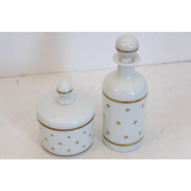 French Portieux Vallerysthal Vanity Set - A Pair - Image 3 of 5