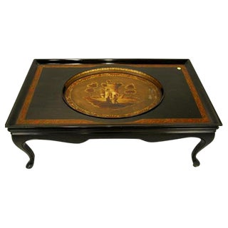 Period Regency Tray in Custom Coffee Table