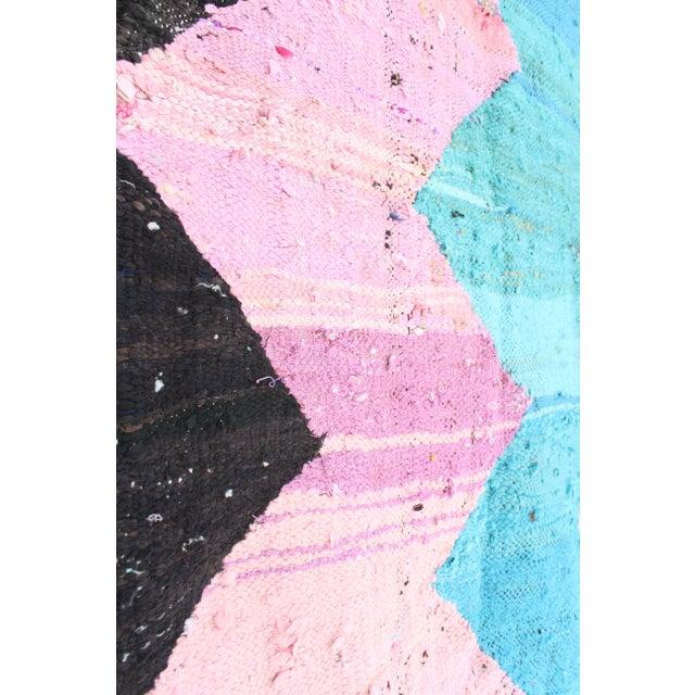 Kilim Boucherouite Rug - 4' x 6' - Image 4 of 6