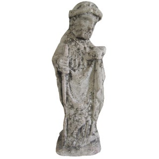 Antique French Stone Statue