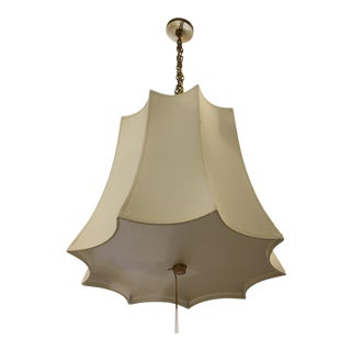 New! Visual Comfort Crown Shade Chandelier