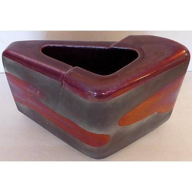 Sculptural Art Pottery Vase - Image 2 of 6