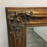 Image of Framed Gold Wall Mirror