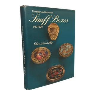 European & American Snuff Boxes (1730-1830) Book