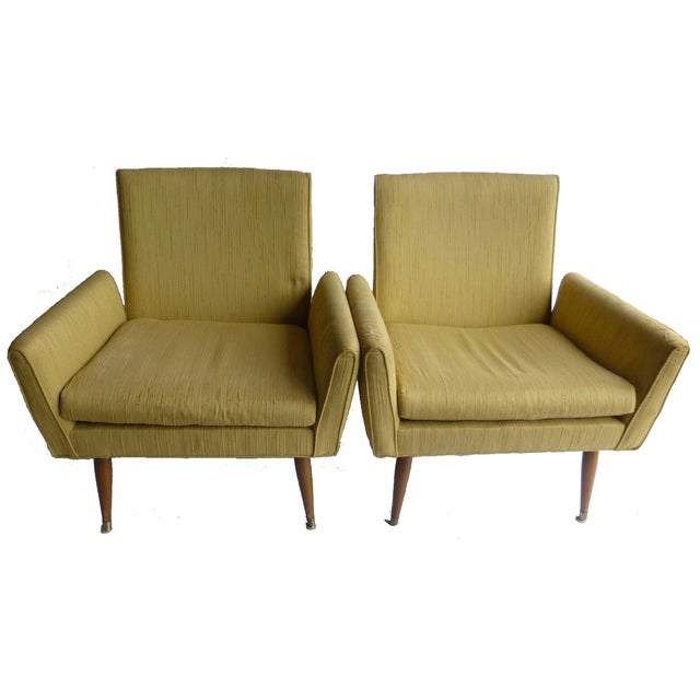 Paul McCobb Vintage 1950s Armchairs - A Pair - Image 1 of 10