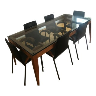Matthew Hilton Dining Table & Chairs - Set of 7
