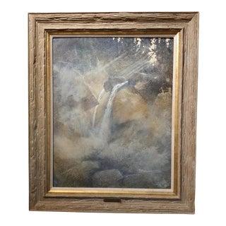 "Phil Nethercott ""Misty Morning"" Original Oil Painting"