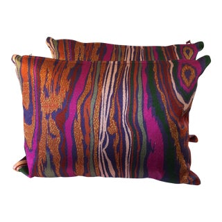Colorful Chic Pillows - a Pair