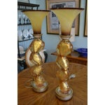 Image of Contemporary Modern Leeazanne Lamps - Pair