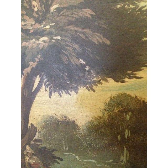 Pair of 19th Century Italian Landscapes - Image 4 of 9