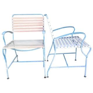 Salterini Mid-Century Outdoor Chairs - A Pair