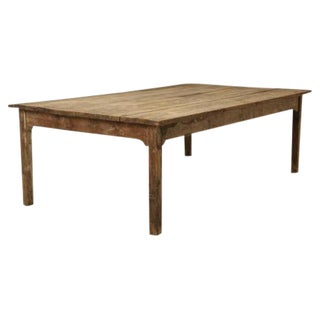 Antique French Farm House Dining Table