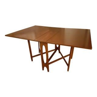 Danish Modern Gateleg Dining Table