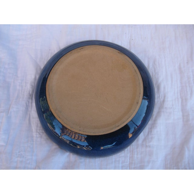 Indigo Pottery Catchall Bowl - Image 7 of 7