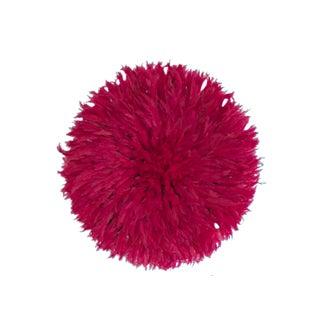 Juju Hat Cherry Pink Feather Headdress