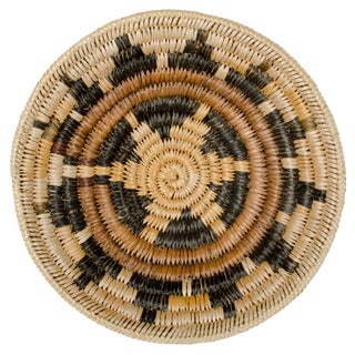 Navajo Coiled Wedding Basket