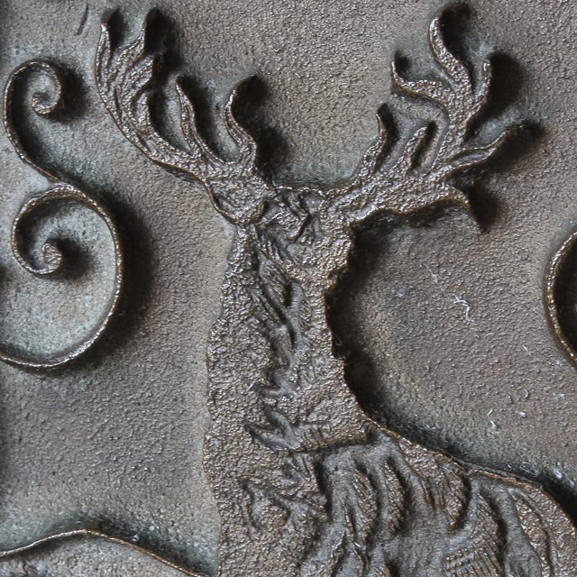 Antique Fraternal Bronze Elks Club Bookends - Pair - Image 3 of 8