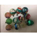 Image of Vintage Assorted Glass Ornaments - Set of 12