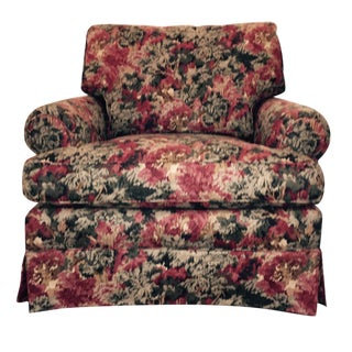 Miles Talbott Forrest Fabric Club Chair