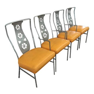 "Set of Original Salterini ""Montego"" Chairs ( Two Arm, Two Armless )"