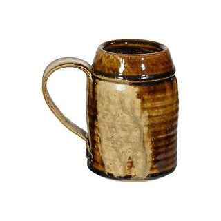 1970s Handled Pottery Mug
