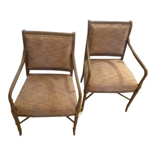 Vintage Newly Upholstered Side Chairs - A Pair