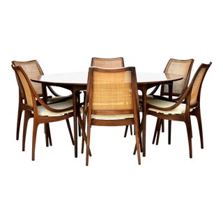 Richard Thompson Glenn of California Walnut Dining Set