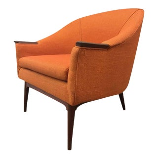 Danish Mid-Century Modern Lounge Chair Manner of Hans Olsen