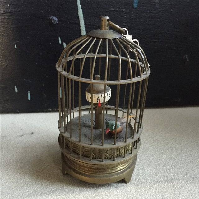 1800's Bird Cage Clock - Image 2 of 9